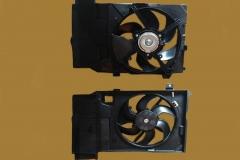 Диффузор радиатора ниссан Микра К12, Ноут Е11