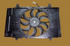 Диффузор радиатора ниссан Тиида CX11,  Жук F15